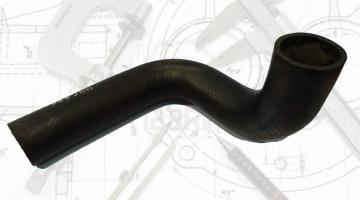 Elbow radiator hoses